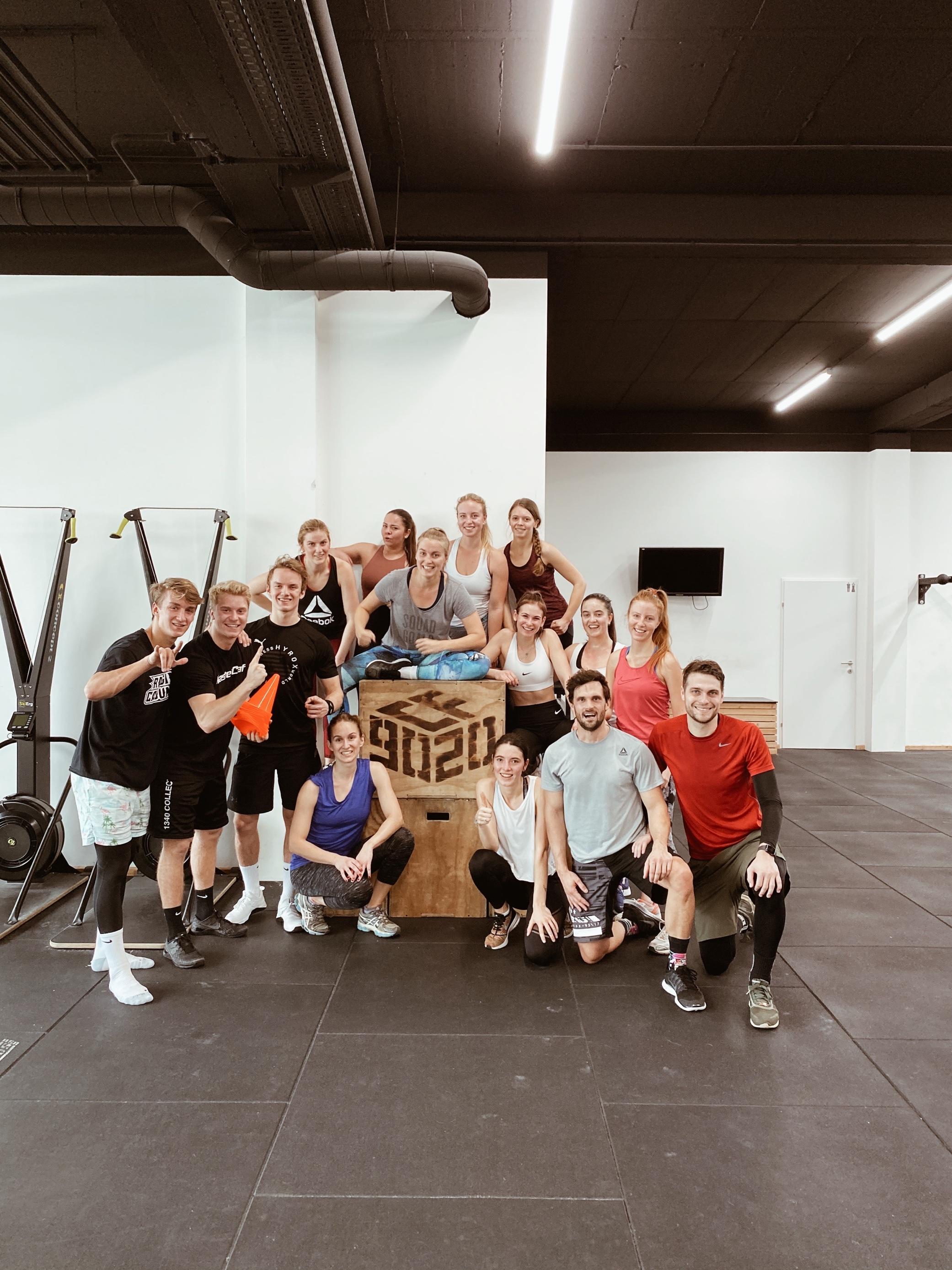 Teambuilding CrossFit